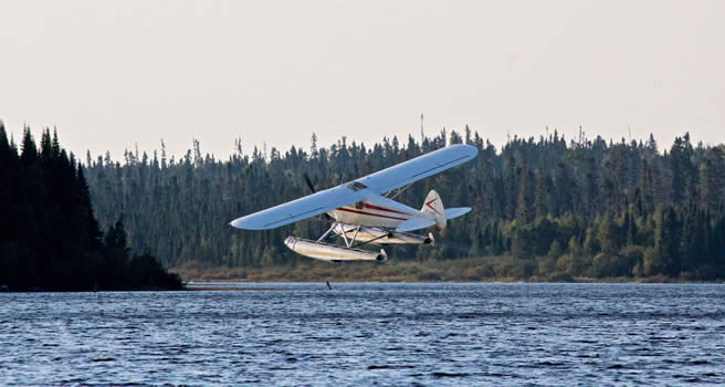Our aircraft beaver otter seaplane for fly in fishing for Flying fish fleet